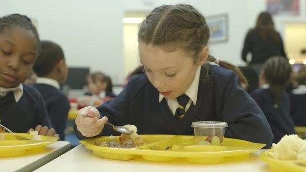 School catering options