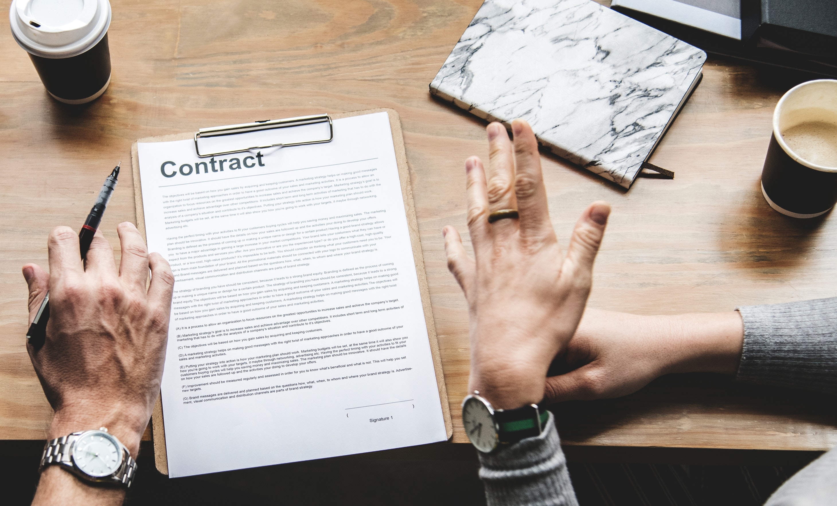 Contract management for schools